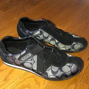 COACH Velcro sneaker